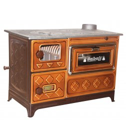 S11 LUXURY CAST IRON STOVE WITH GLASS