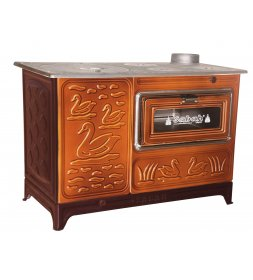 S05 LUXURY ENAMELED BUCKET STOVE WIDE OVEN